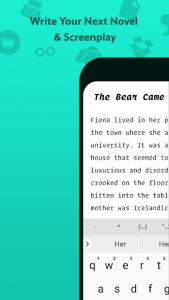 تصویر محیط JotterPad – Writer, Screenplay, Novel v12.10.3-pi