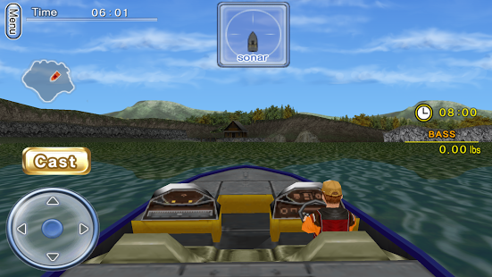 Bass Fishing 3D on the Boat v2.3.6