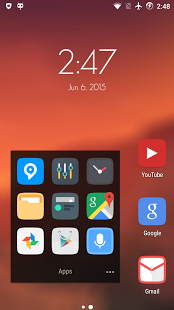 Clix – Launcher Theme v1.0