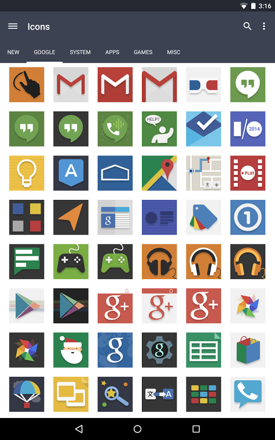 Evo – Icon Pack v3.3.7