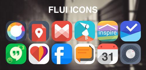 Flui icon pack v1.6.6