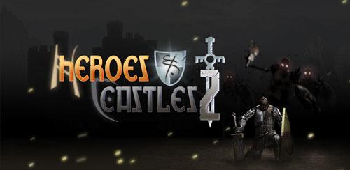 بازی اکشن قهرمانان و قلعه ها Heroes and Castles 2 v1.00.03.1
