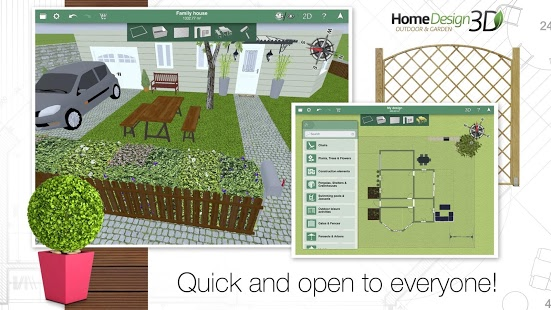 Home Design 3D Outdoor/Garden v3.0.0 + data