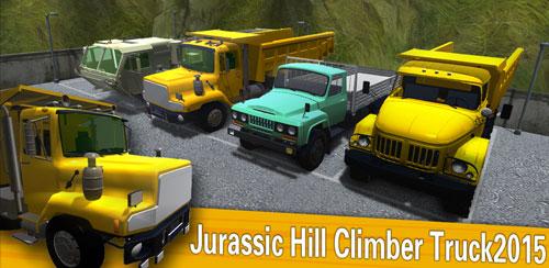 کامیون حمل بار در مناطق کوهستانی Jurassic Hill Climber Truck v1.3