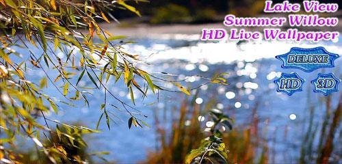 Lake View Willow Landscape HD v1.3.9
