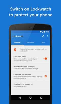 Lockwatch – Protect Your Phone v4.5.0