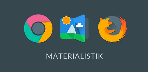 MATERIALISTIK ICON PACK v8.0
