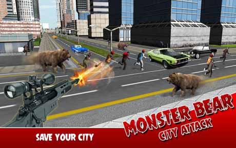 Monster Bear: City Attack v1.0