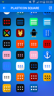 PLASTICON Square – Icon Pack v1.1.13