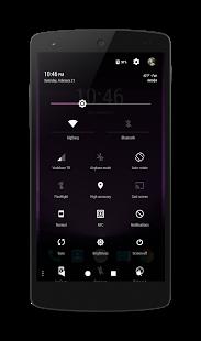 PitchBlack™(Aurora) CM12 Theme v3.0