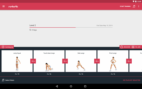 Runtastic Leg Trainer – Workouts & Exercises v1.8