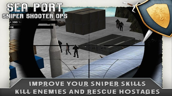 Sea Port Sniper Shooter Ops v1.0.1