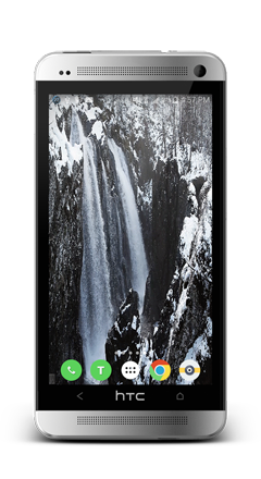 Snowy Waterfall Live Wallpaper v1.00