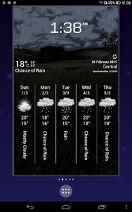 cliMate Animated WeatherWidget v3.4