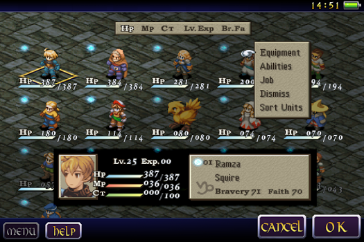 FINAL FANTASY TACTICS : WotL v1.1.0 + data