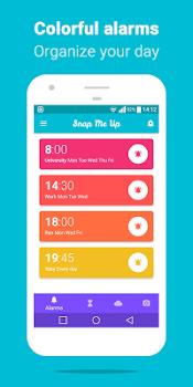 Snap Me Up Selfie Alarm Clock v6.1.0
