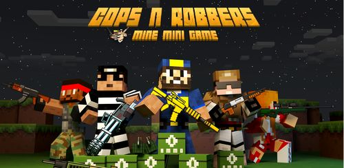 Cops N Robbers – 3D Pixel Craft Gun Shooting Games v9.1.6
