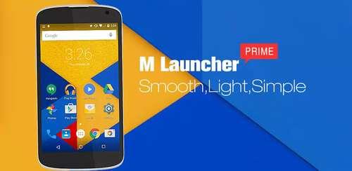 M Launcher Pro-Marshmallow 6.0 v1.4.6