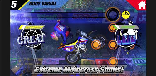 دانلود بازی موتور سواری حرفه ای MXS Big Air برای اندروید