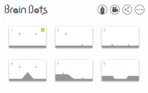 تصویر محیط Brain Dots v2.17.4