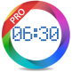 نرم افزار آلارم حرفه ای Alarm clock PRO v9.2.2