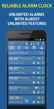 Alarm Plus Millenium: Alarm Clock +Tasks +Contacts v6.1
