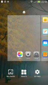 تصویر محیط iLauncher – OS 9 v1.1.5