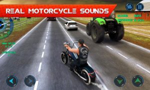تصویر محیط Moto Traffic Race v1.27