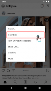 تصویر محیط InstaSave – Instagram photo and video downloader v1.3.3