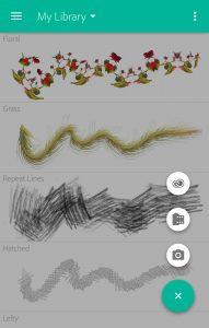 تصویر محیط Adobe Brush v1.3.0