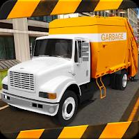 بازی شبیه ساز رانندگی با ماشین حمل زباله آیکون