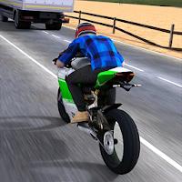 بازی مسابقات موتور سواری آیکون