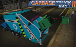 تصویر محیط Garbage Truck SIM 2015 II v1.8