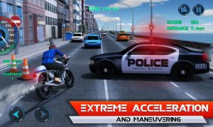 تصویر محیط Moto Traffic Race v1.22
