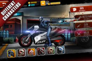 تصویر محیط Death Moto 3 : Fighting Bike Rider v1.2.61