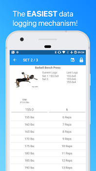 JEFIT: Workout Tracker Gym Log v9.81