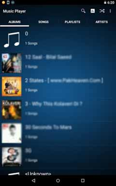 Axif Music Player 1.0.1