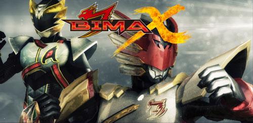 دانلود بازی رزمی مبارزات رباتیک BIMA-X برای اندروید