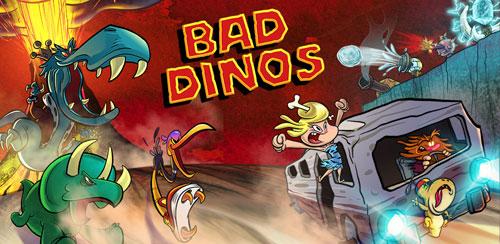 دانلود بازی دایناسورهای بد Bad Dinos v1.0.5 اندروید