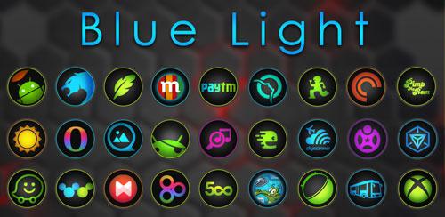 Blue Light Icon Pack v4.0.0