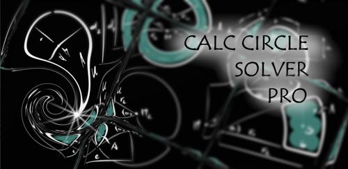 نرم افزار محاسبات هندسی Calc Circle Solver Pro v1.0