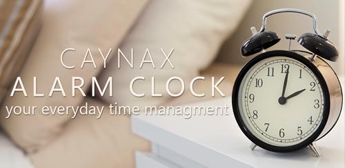 نرم افزار آلارم حرفه ای Caynax Alarm Clock PRO v7.1.1 PRO