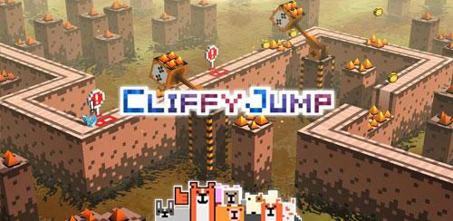 دانلود بازی پرش کلیفای Cliffy Jump برای اندروید