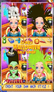 Crazy Halloween Hair Salon v7.1