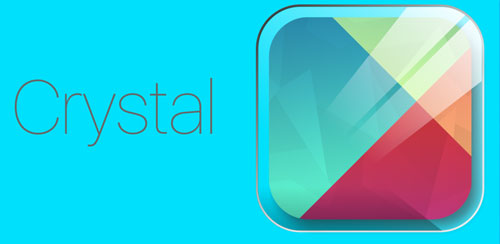 Crystal – icon pack Theme HD v1.0