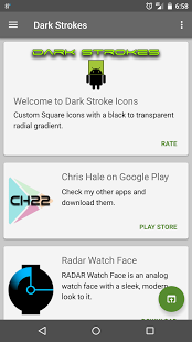 Dark Strokes (Launcher Theme) v12.1