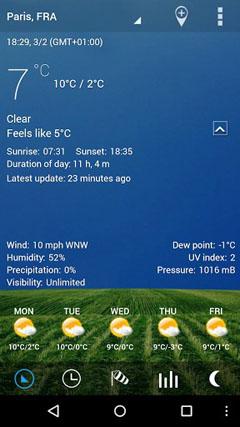 Digital clock & world weather v1.05.38