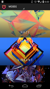 Facets – with Muzei v2.0