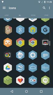 Hexacon – Icon Pack v2.3.0.1