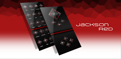 Jackson Red – Icon Pack v1.5